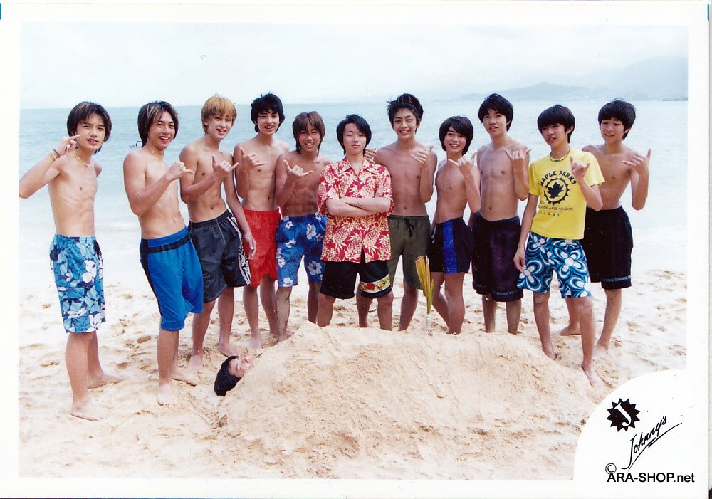 SHOP PHOTO - ARASHI - Johnny's Jrs. in Hawaii #059
