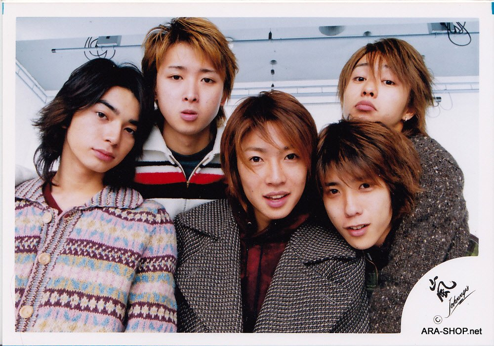 SHOP PHOTO - ARASHI - 2002 ~ 2003 ATARASHI ARASHI #169