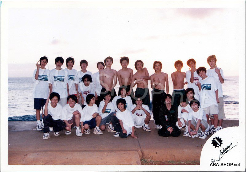 SHOP PHOTO - ARASHI - Johnny's Jrs. in Hawaii #053