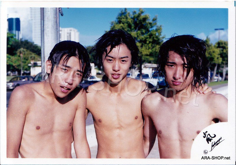 SHOP PHOTO - ARASHI - DEBUT in HAWAII 1999 #076