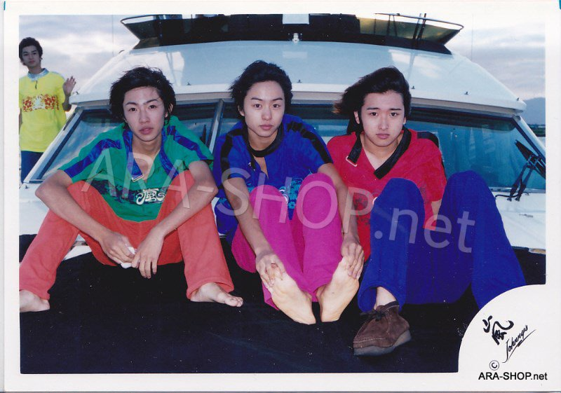 SHOP PHOTO - ARASHI - DEBUT in HAWAII 1999 #078