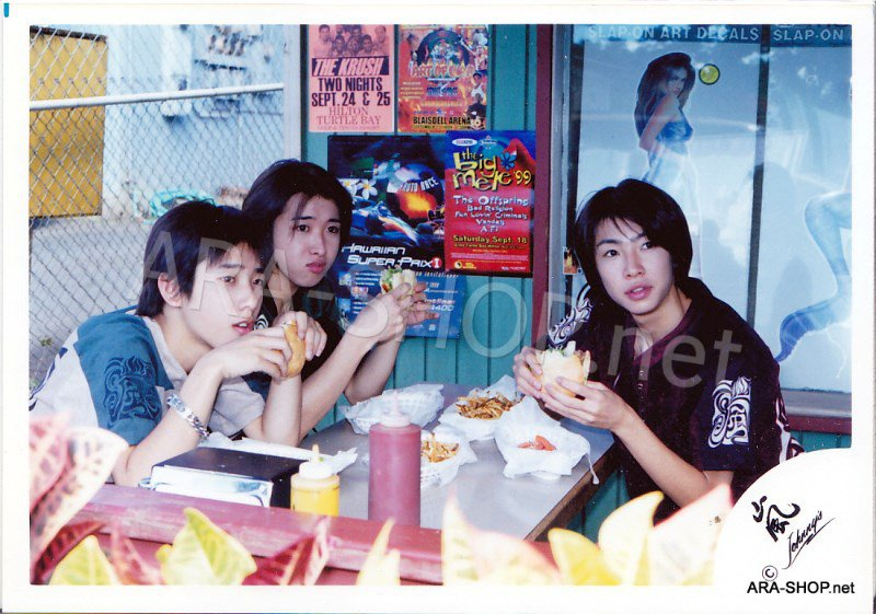 SHOP PHOTO - ARASHI - DEBUT in HAWAII 1999 #084