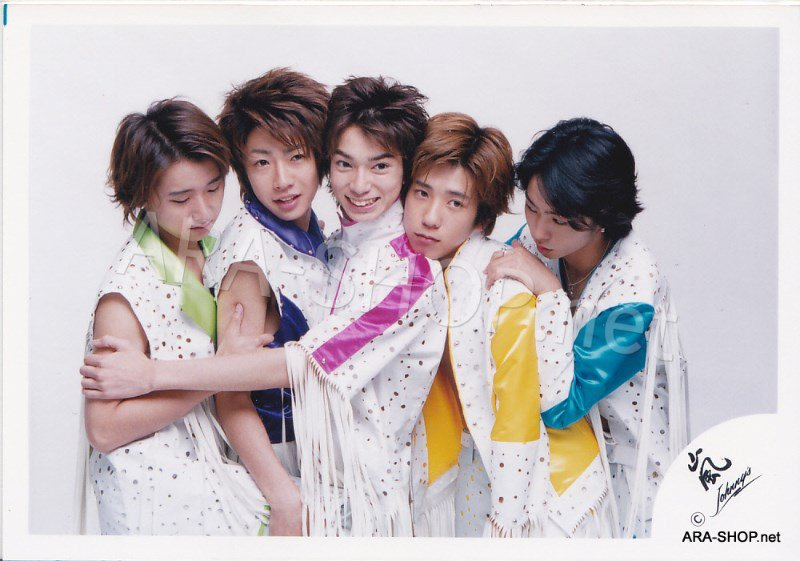 SHOP PHOTO - ARASHI - GROUP & MIX #106