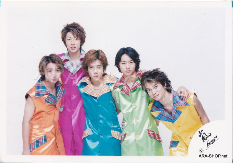 SHOP PHOTO - ARASHI - GROUP & MIX #107