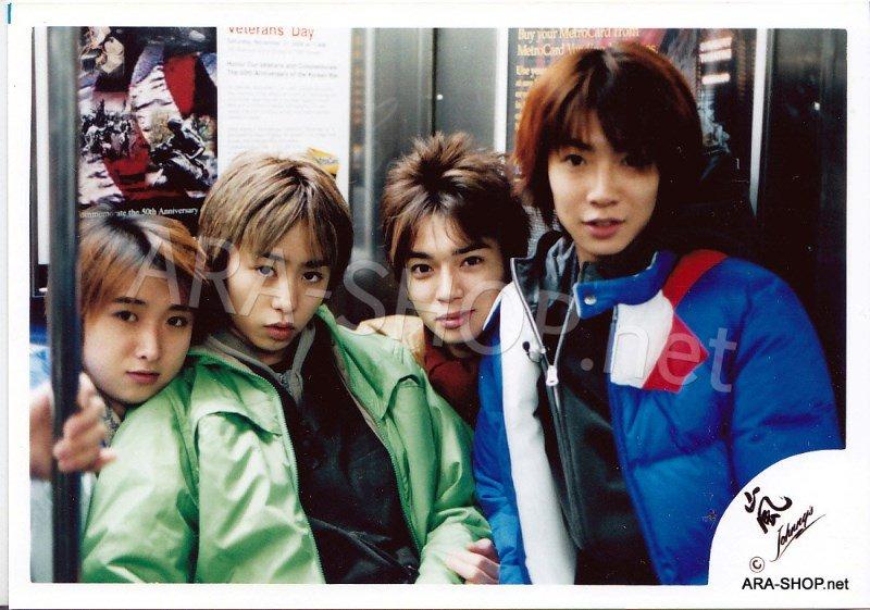 SHOP PHOTO - ARASHI - 2001 in New York #127