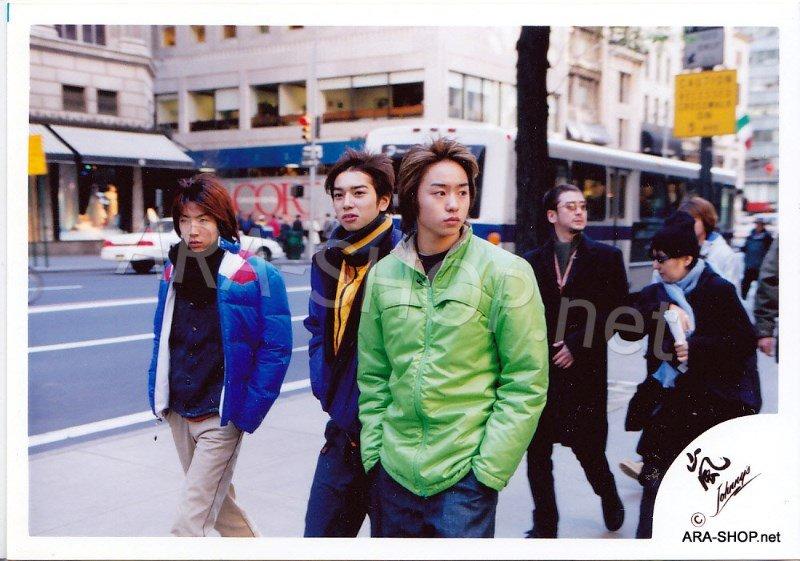 SHOP PHOTO - ARASHI - 2001 in New York #129