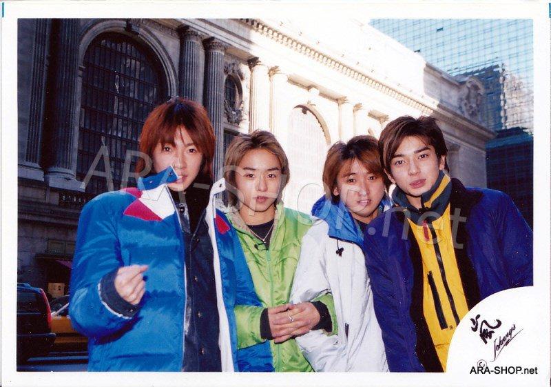 SHOP PHOTO - ARASHI - 2001 in New York #134