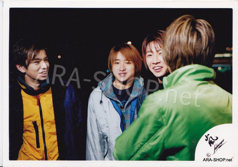 SHOP PHOTO - ARASHI - 2001 in New York #138