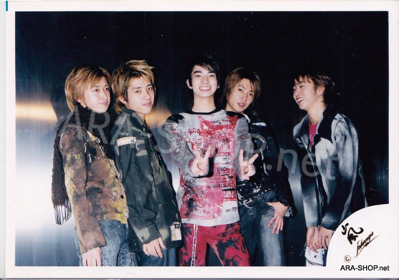 SHOP PHOTO - ARASHI - 2001 ~ 2002 JOIN THE STORM #143