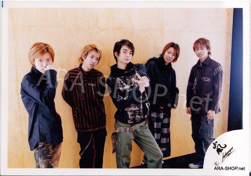 SHOP PHOTO - ARASHI - 2001 ~ 2002 JOIN THE STORM #145
