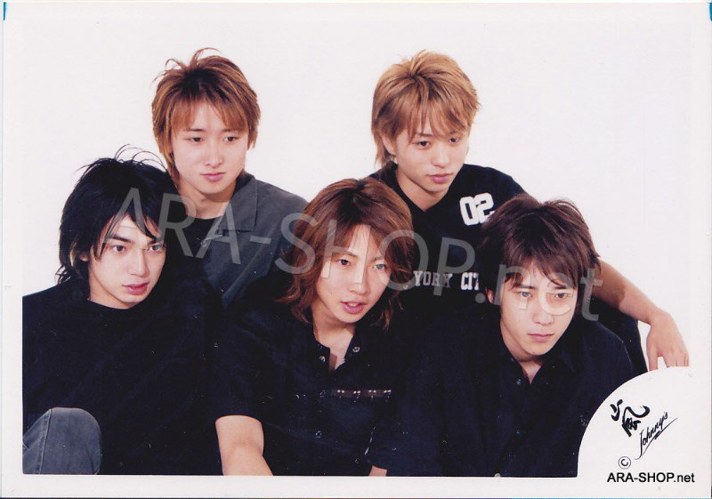 SHOP PHOTO - ARASHI - 2002 HERE WE GO  #150