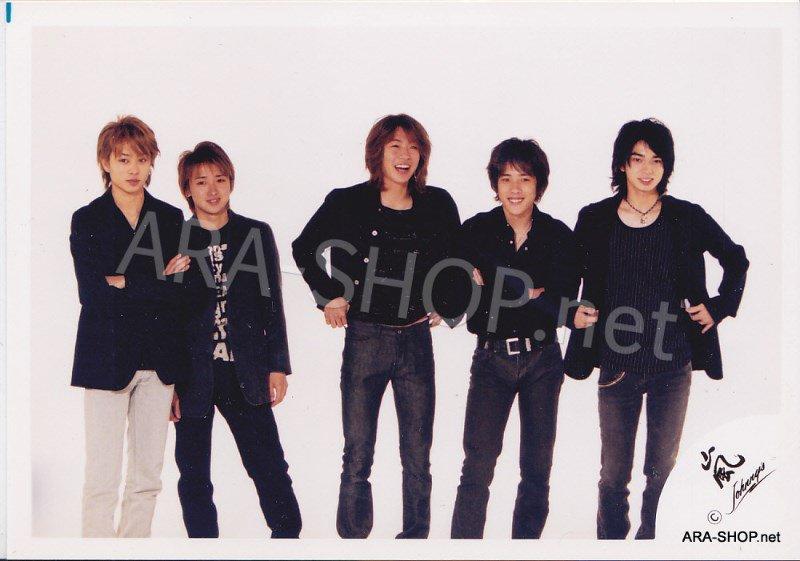 SHOP PHOTO - ARASHI - 2002 HERE WE GO  #151