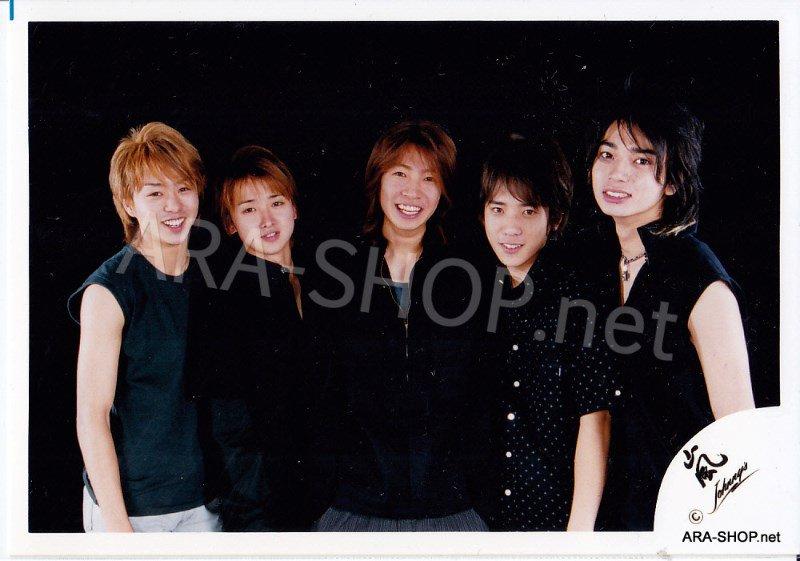 SHOP PHOTO - ARASHI - 2002 HERE WE GO  #152