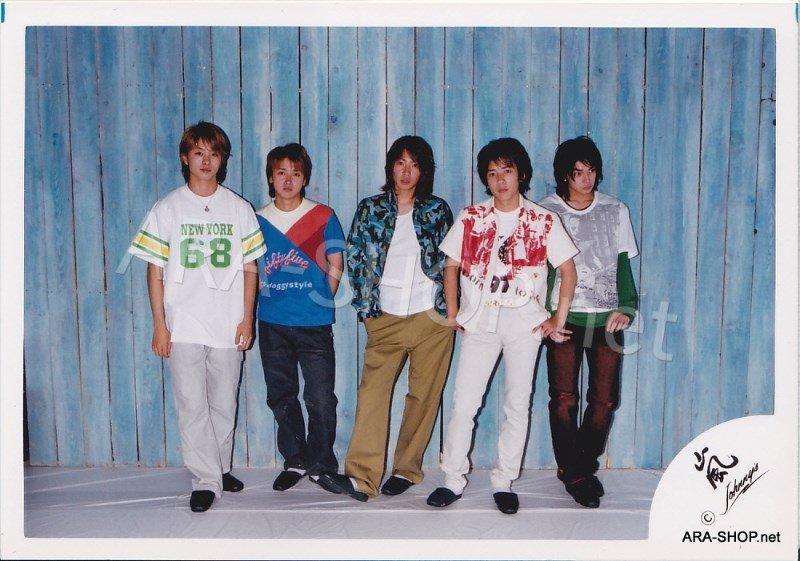 SHOP PHOTO - ARASHI - 2002 HERE WE GO  #161