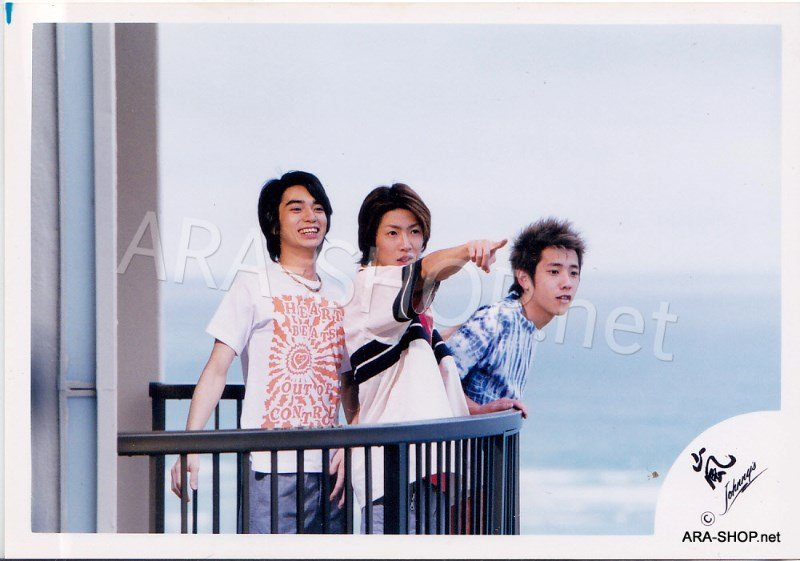 SHOP PHOTO - ARASHI - 2003 Fanmeeting in HAWAII #179