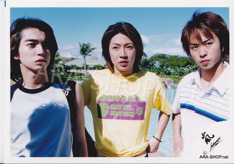 SHOP PHOTO - ARASHI - 2003 Fanmeeting in HAWAII #193