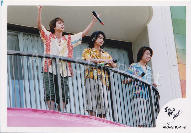 SHOP PHOTO - ARASHI - 2003 Fanmeeting in HAWAII #197