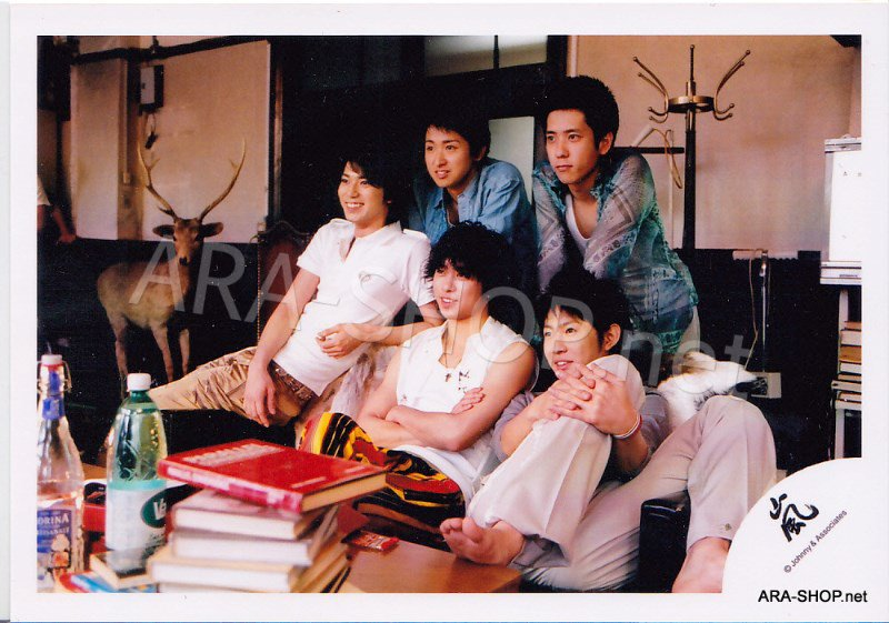 SHOP PHOTO - ARASHI - 2006 ARASHIC #244