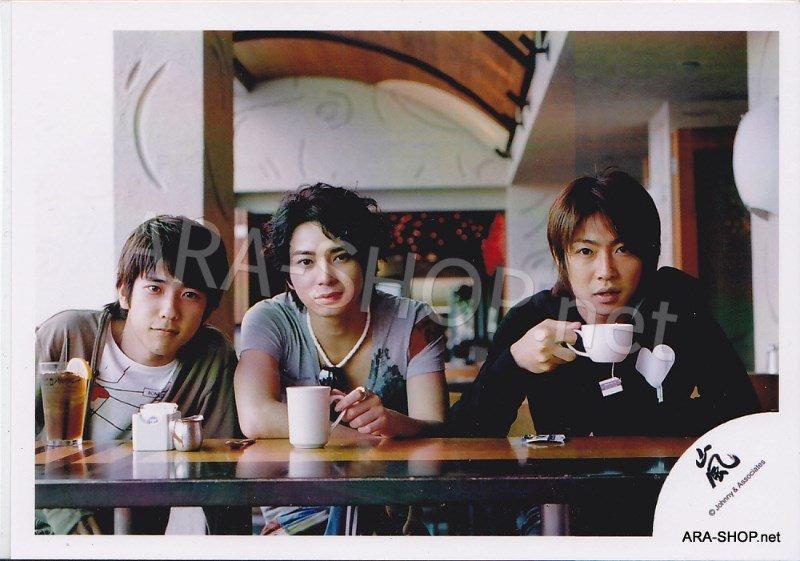 SHOP PHOTO - ARASHI - 2006 in Hawaii (Aiba, Nino, Jun) #250