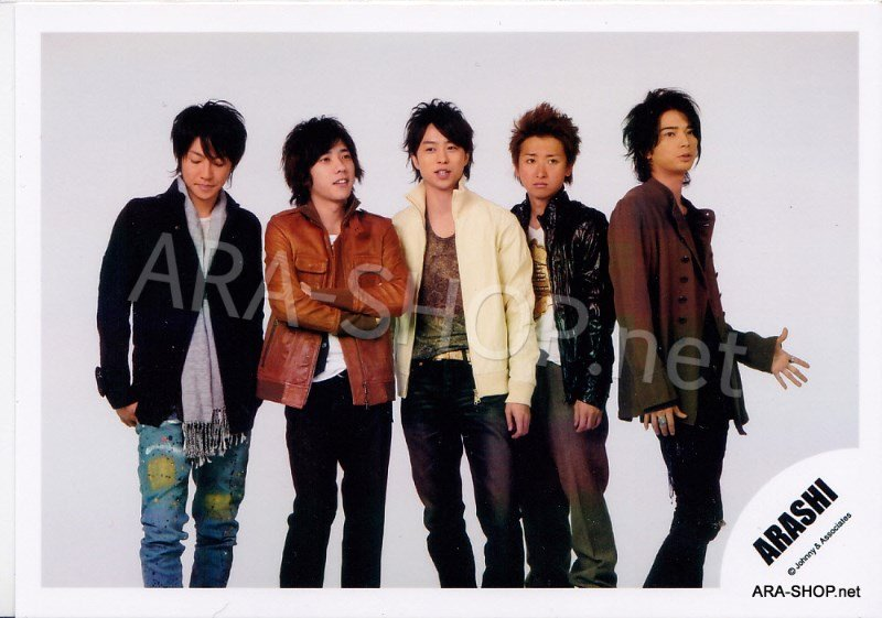 SHOP PHOTO - ARASHI - 2008 Dream-a-Live DAL #279