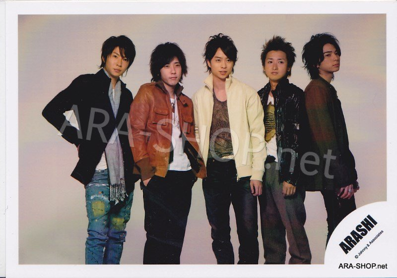 SHOP PHOTO - ARASHI - 2008 Dream-a-Live DAL #280
