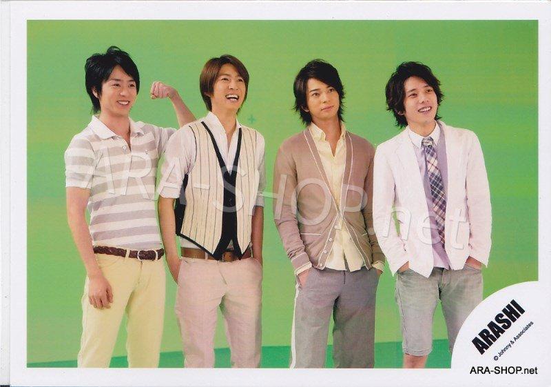 SHOP PHOTO - ARASHI - 2008 One Love [PV] #285