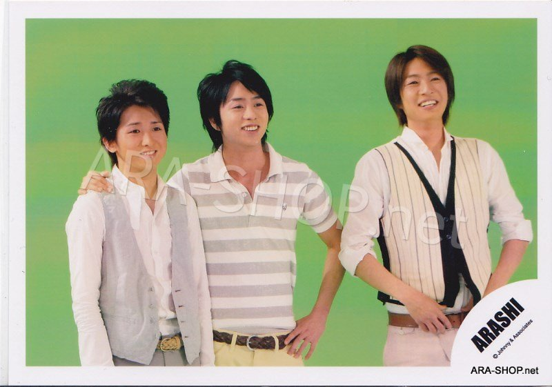 SHOP PHOTO - ARASHI - 2008 One Love [PV] #282