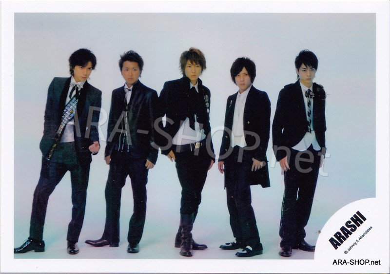 SHOP PHOTO - ARASHI - 2009 ~ 2010 5x10 ALL THE BEST #298