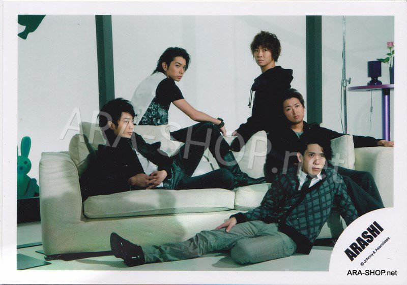 SHOP PHOTO - ARASHI - 2009 ~ 2010 5x10 ALL THE BEST #304