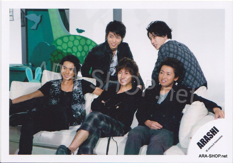 SHOP PHOTO - ARASHI - 2009 ~ 2010 5x10 ALL THE BEST #305