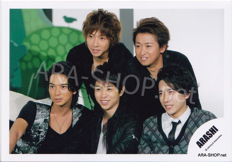 SHOP PHOTO - ARASHI - 2009 ~ 2010 5x10 ALL THE BEST #306
