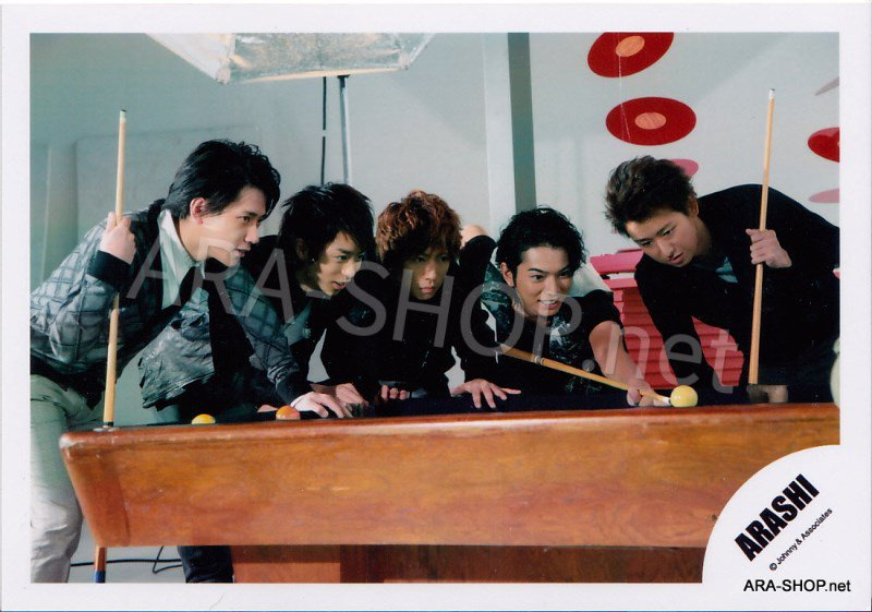 SHOP PHOTO - ARASHI - 2009 ~ 2010 5x10 ALL THE BEST #309