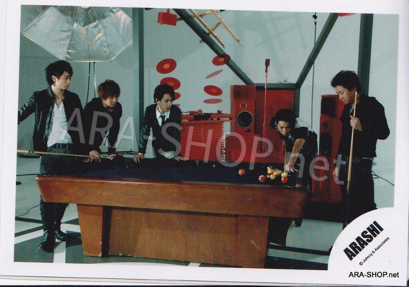 SHOP PHOTO - ARASHI - 2009 ~ 2010 5x10 ALL THE BEST #311