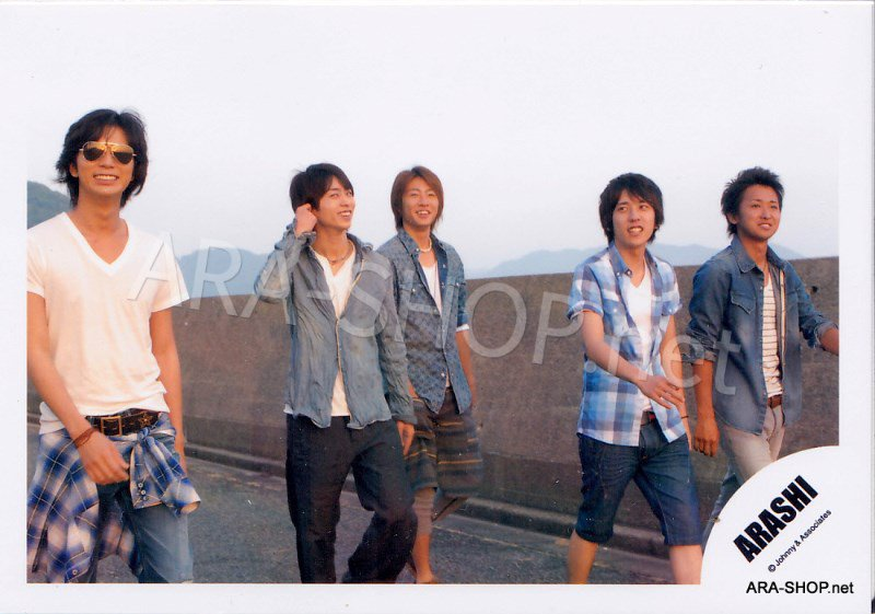 SHOP PHOTO - ARASHI - 2009 Everything [PV] #314