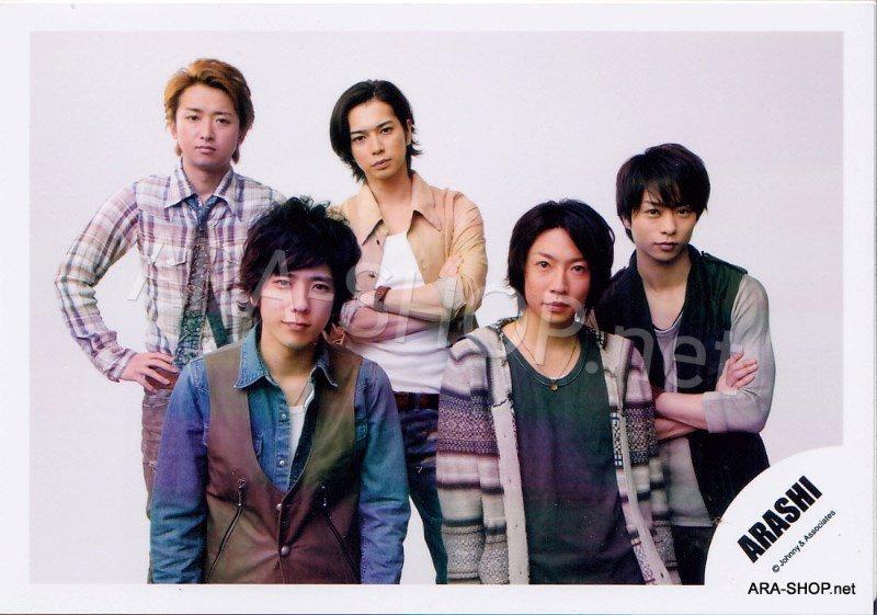 SHOP PHOTO - ARASHI - 2010 to be free [PV] #329