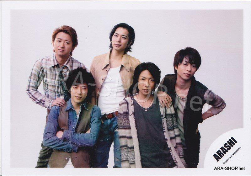 SHOP PHOTO - ARASHI - 2010 to be free [PV] #331