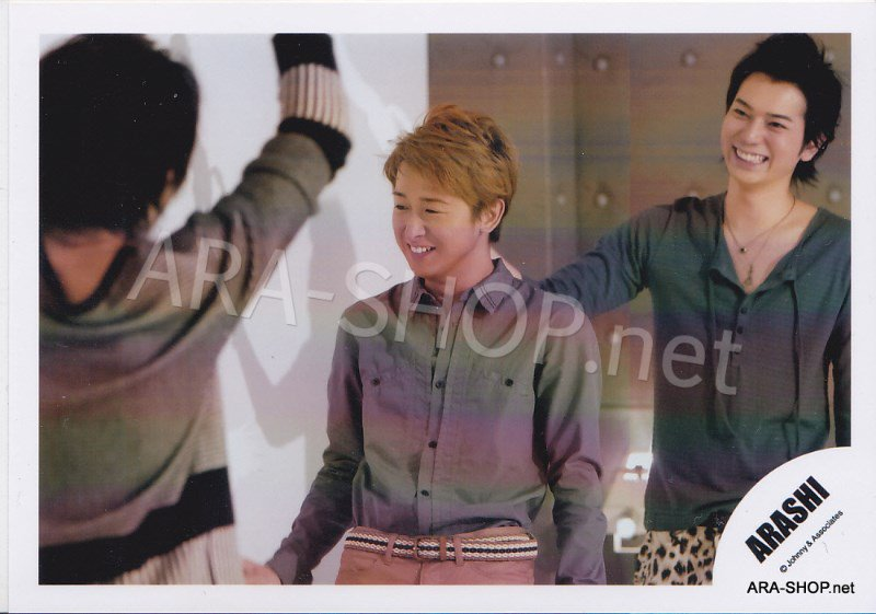 SHOP PHOTO - ARASHI - 2011 ~ 2012 Beautiful World Tour #357