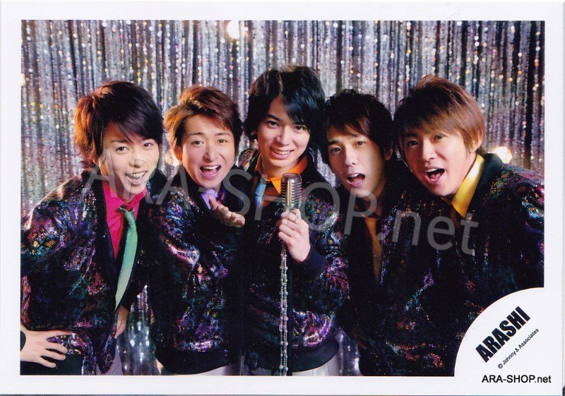 SHOP PHOTO - ARASHI - 2012 Wild at Heart [PV] #376
