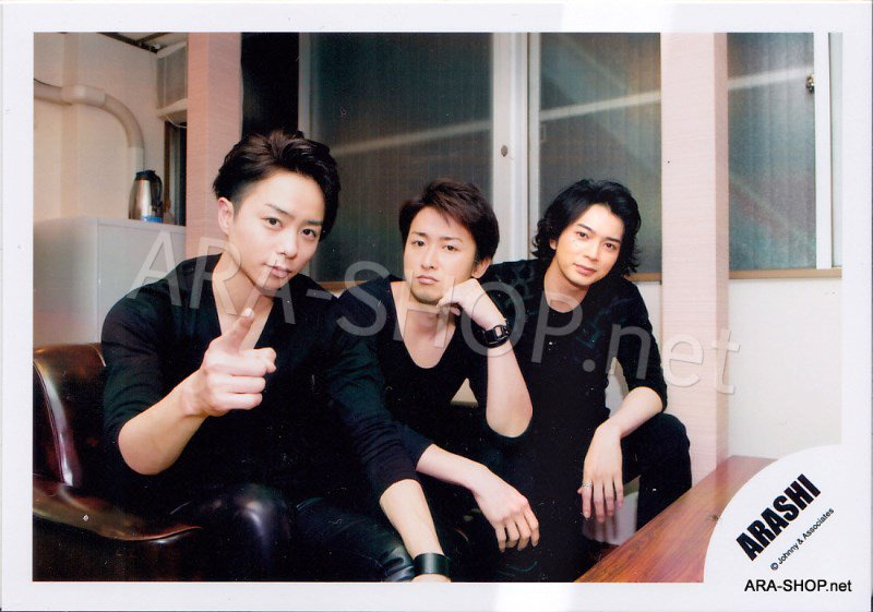 SHOP PHOTO - ARASHI - 2012 Face Down [PV] #386