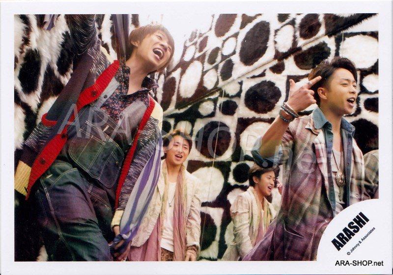SHOP PHOTO - ARASHI - 2012 Face Down [PV] #388