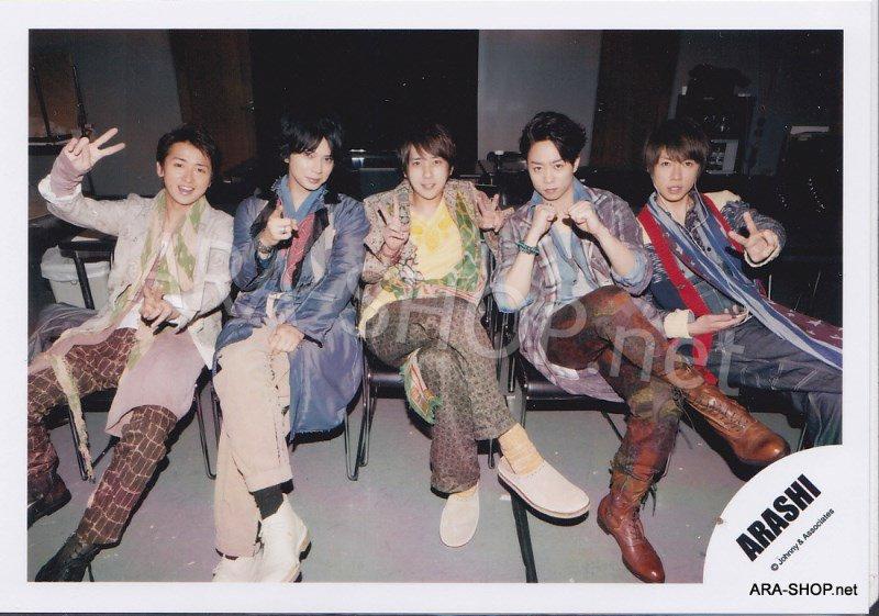 SHOP PHOTO - ARASHI - 2012 Face Down [PV] #393