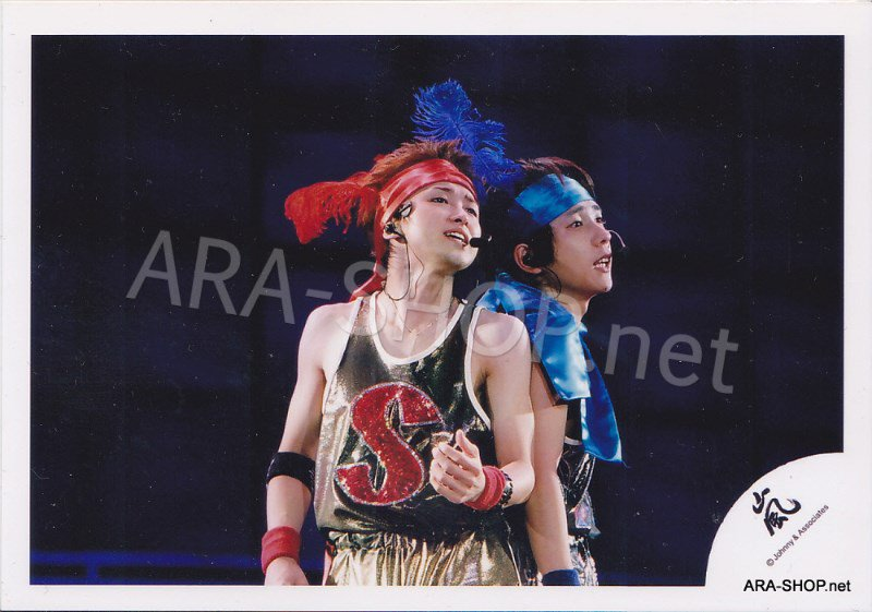 SHOP PHOTO - ARASHI - PAIRINGS - OHMIYA #005