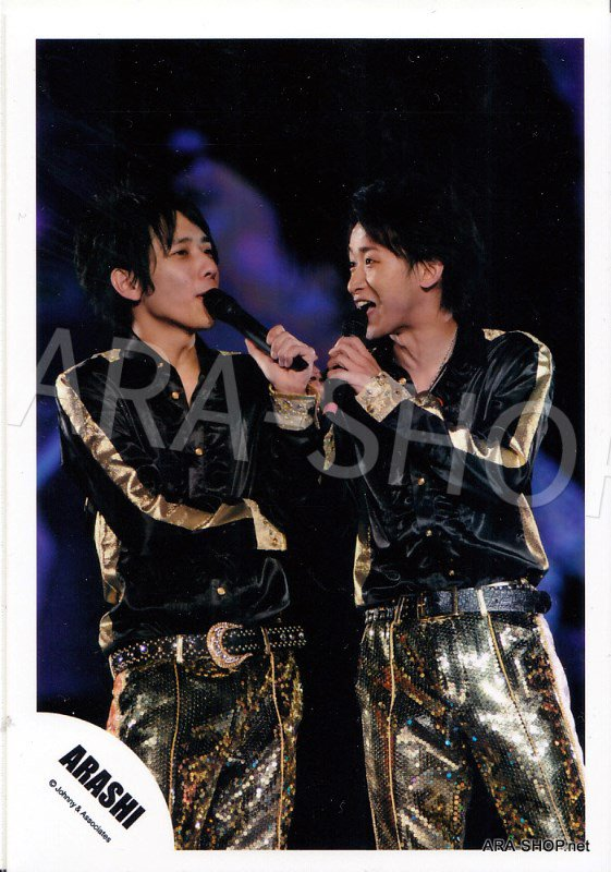 SHOP PHOTO - ARASHI - PAIRINGS - OHMIYA #013
