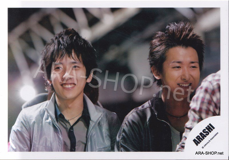 SHOP PHOTO - ARASHI - PAIRINGS - OHMIYA #016