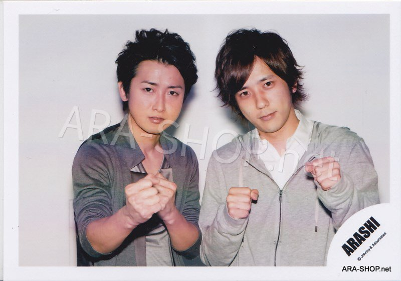 SHOP PHOTO - ARASHI - PAIRINGS - OHMIYA #020