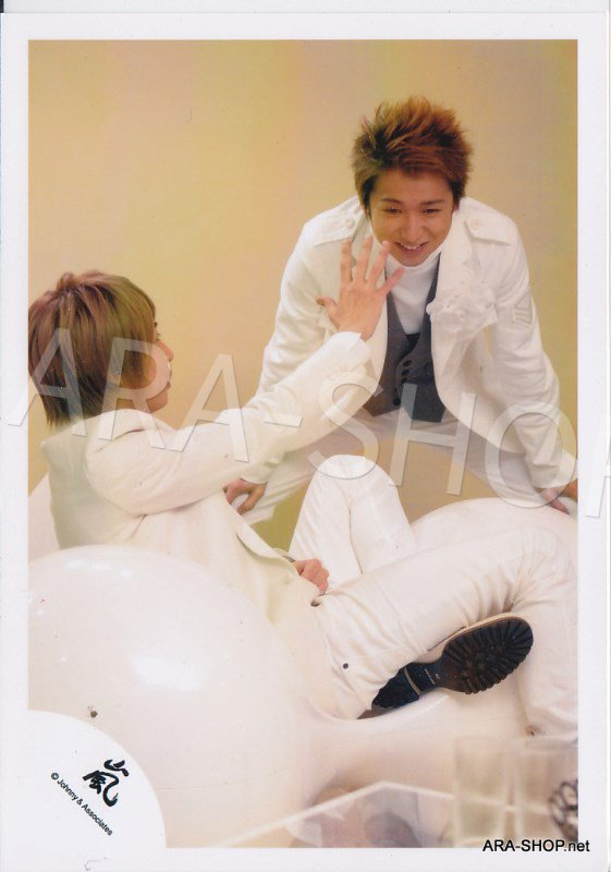 SHOP PHOTO - ARASHI - PAIRINGS - TENNEN PAIR #012