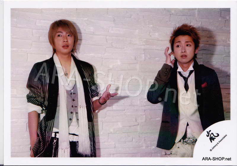 SHOP PHOTO - ARASHI - PAIRINGS - TENNEN PAIR #014