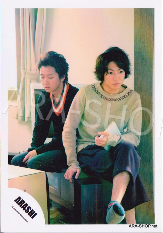 SHOP PHOTO - ARASHI - PAIRINGS - TENNEN PAIR #020