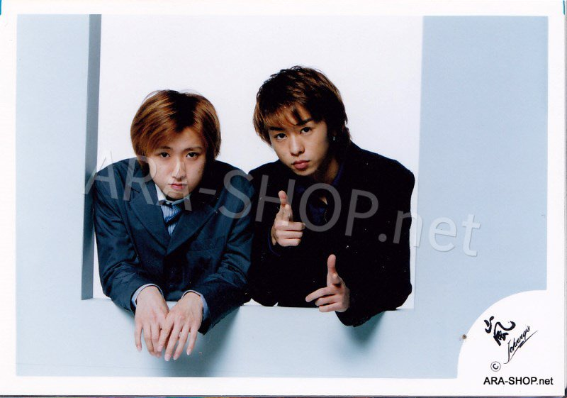SHOP PHOTO - ARASHI - PAIRINGS - YAMA PAIR #001