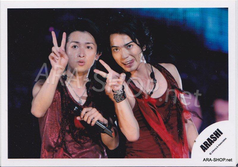 SHOP PHOTO - ARASHI - PAIRINGS - TOSHIUE&SHITA PAIR #020